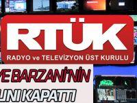 RTÜK Barzani'nin kanalı Rudaw'ı kapattı