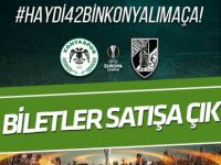 Atiker Konyaspor- Vitoria maçı biletleri satışta