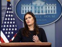 ABD Beyaz Saray Sözcüsü Sanders'tan Türkiye ve Brunson açıklaması