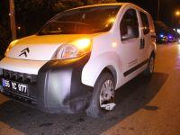Konya'da iki aracın çarptığı yaya öldü