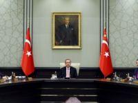 Bakanlar Kurulu Cumhurbaşkanı Erdoğan başkanlığında Beştepe'de toplandı
