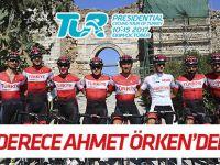 Cumhurbaşkanlığı Bisiklet Turu'nda en iyi derece Ahmet Örken'den geldi