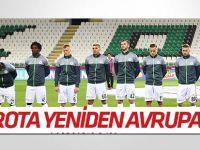 Atiker Konyaspor'da rota yeniden Avrupa