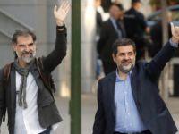 Katalan liderler gözaltında