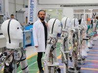 Milli insansı robot fabrikası seri üretime başladı