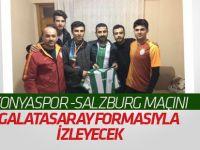Konyaspor maçını Galatasaray formasıyla izleyecek