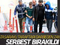 Galatasaraylı öğrenciyi darbeden 4 şüpheli  serbest