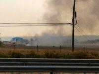 İspanya'da savaş uçağı düştü
