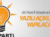 AK Parti Konya İl Yönetimi istifa etti