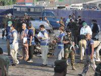 Pakistan'da bombalı saldırıda ilk belirlemelere göre 7 polis öldü