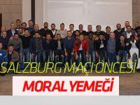 Atiker Konyaspor'da Salzburg maçı öncesi moral yemeği
