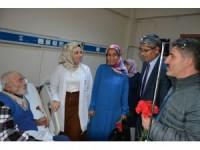 Suşehri Belediye Başkanı Yüksel'den hasta ziyaretleri