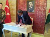 Ammanda Osmanlı şehitlerine vefa