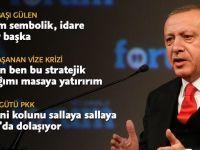 Cumhurbaşkanı Erdoğan, TRT World Forum'a katıldı