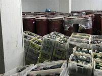 İzmir'de 40 bin şişe kaçak içki ele geçirildi