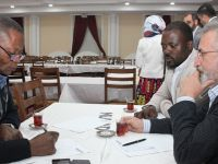 MÜSİAD Konya Şubesi bu kez Demokratik Kongo Cumhuriyeti Büyükelçisi'ni Ve Beraberindeki İşadamları Heyetini Ağırladı