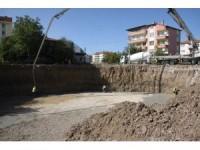 Çubuk Belediyesinden hamam ve sosyal tesis inşaatı