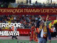 Konyaspor maçında tramvaylar ücretsiz