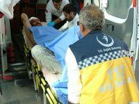 Konya'da laf atma kavgası kanlı bitti: 2 yaralı