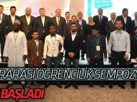 Konya'da 3. uluslararası öğrencilik sempozyumu yapıldı