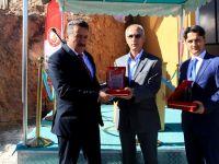 Seydişehir'de Kaymakam ve Belediye Başkanına teşekkür plaketi