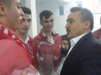 Tutal, 97/4 tertip asker adaylarının asker kınasına katıldı