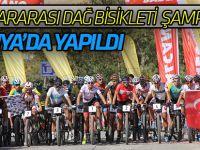 Uluslararası Dağ Bisikleti Şampiyonası Konya'da Yapıldı