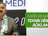 Fatih Yılmaz'dan teknik direktör açıklaması