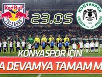 Atiker Konyaspor, bu akşam Salzburg'la karşılaşıyor