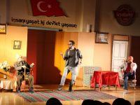 """""""Hazan Rüzgarı"""" İsimli Tiyatro Oyunu Seydişehir'de Sahnelendi"""