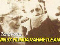 Mehmed Zahid Kotku vefatının 37. yılında rahmetle anılıyor!