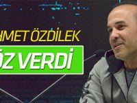 Atiker Konyaspor Teknik Direktörü Özdilek söz verdi