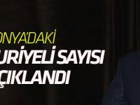 Konya'daki Suriyeli sayısı açıklandı!