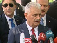 Başbakan Yıldırım: 27 camimizi yıktılar, 70 camimizi hasarlı hale getirdiler