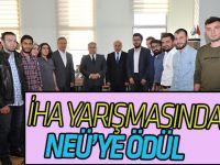 İnsansız Hava Aracı Yarışmasından NEÜ'lü Mühendis Adaylarına Ödül