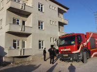 Karapınar'da ev yangını
