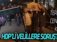 Teröristin cenazesine katılan HDP'li vekiller hakkında soruşturma