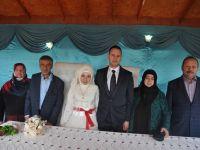Kadriye ile Hamza evlendi