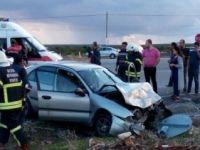Didim'de trafik kazası: 2'si ağır 9 yaralı