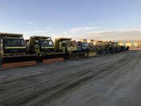 Çumra'da karla mücadele ekibi hazır