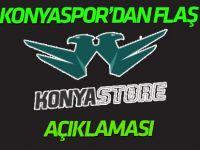 """Konyaspor'dan flaş """"Konya Store"""" açıklaması"""