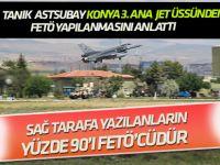Tanıklar  Konya 3. Jet Üssü'ndeki FETÖ yapılanmasını anlattı