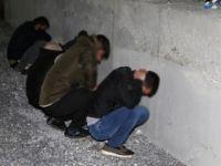 Yatağan'da 7 Suriyeli kaçak ve organizatör yakalandı