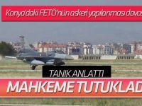 Konya'daki FETÖ'nün askeri yapılanması davasında eski Hava Kurmay Albay  Ersin Kayhan tutuklandı