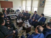 Beyşehir protokolünden KYK yurtlarına ziyaret