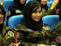 Afgan kadın polis adayları Sivas'ta eğitime başladı