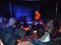 Yunan adalarına geçmeye çalışan 114 yabancı uyruklu yakalandı