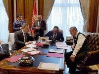 Cumhurbaşkanı Erdoğan,Trump'la telefonda görüştü