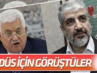 Abbas, Meşal ile Kudüs'ü görüştü