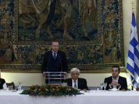 Cumhurbaşkanı Erdoğan Yunanistan'da